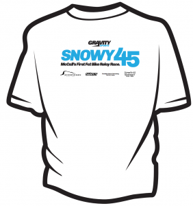 2013 Snowy 45 t-shirt (Back)